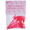 Flamingo Party Sticks - rice