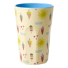 Becher Latte Cup Sommer Print - rice